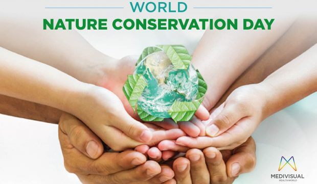 World Nature Conservation Day - 28 July  IMAGES, GIF, ANIMATED GIF, WALLPAPER, STICKER FOR WHATSAPP & FACEBOOK